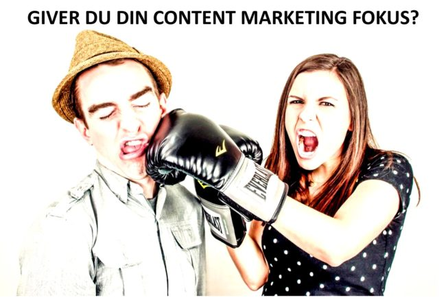 Content Marketing fokus