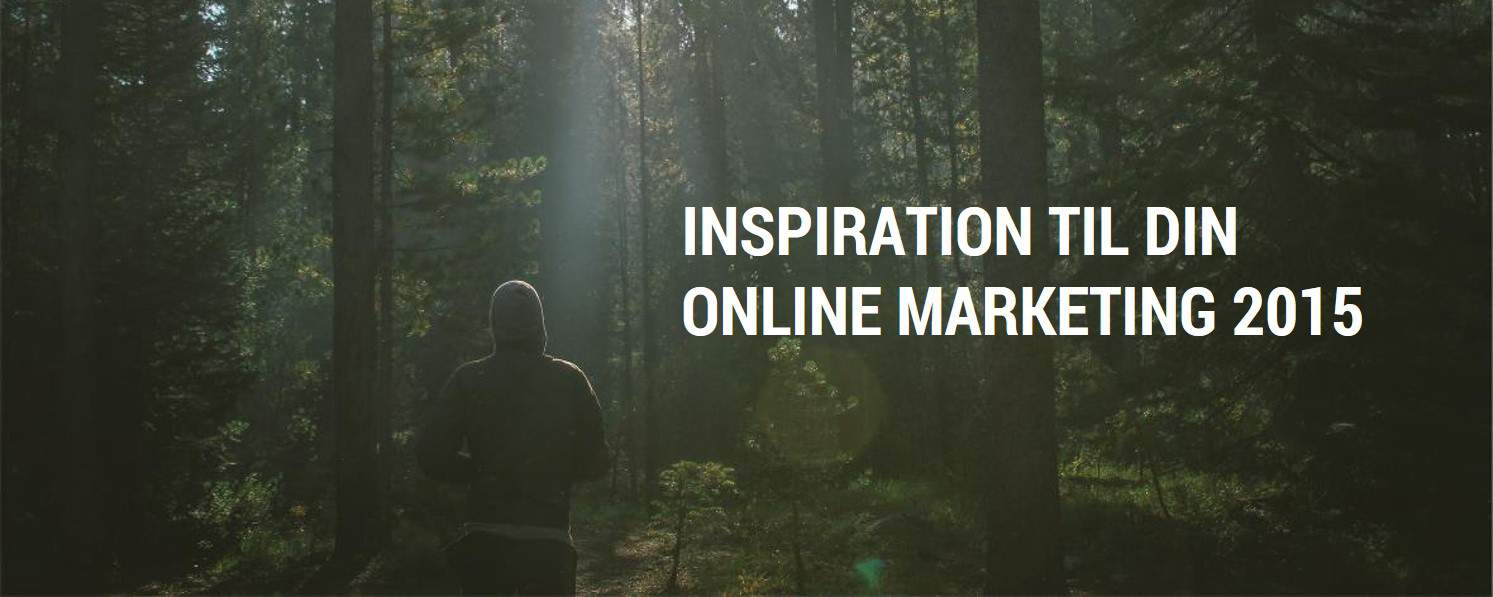 Inspiration online marketing 2015