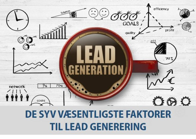 Faktorer Lead generering